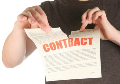 listing agreement cancellation